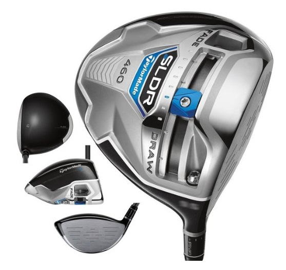 TaylorMade SLDR Driver - 4 Perspectives