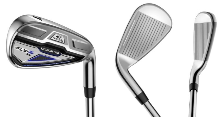 Cobra Fly-Z XL Irons - 3 Perspectives