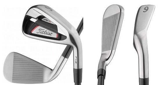 Titleist AP1 714 Irons - 3 Perspectives