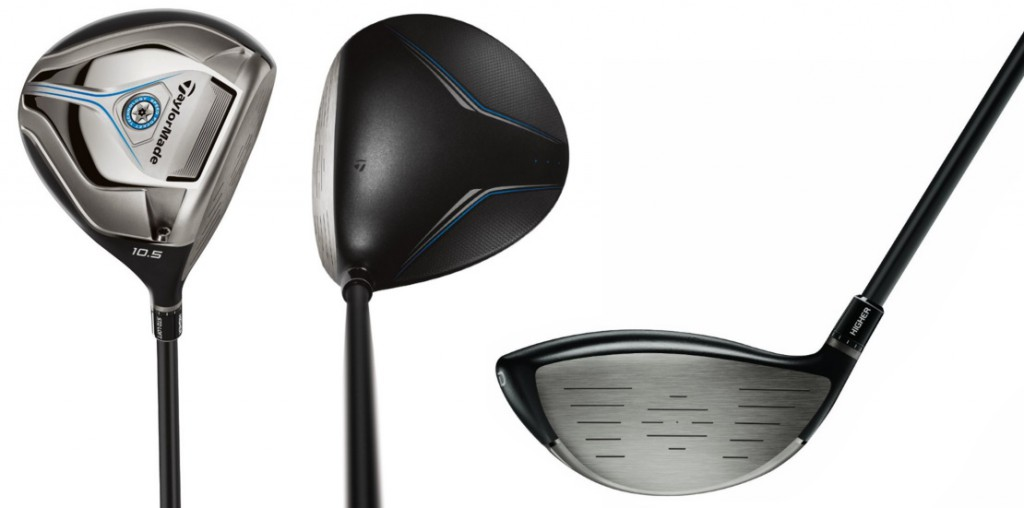 TaylorMade JetSpeed Driver - 3 Perspectives