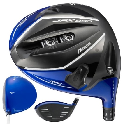 Mizuno JPX-850 Driver - 3 Perspectives