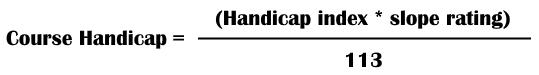 coursehandicapcalc