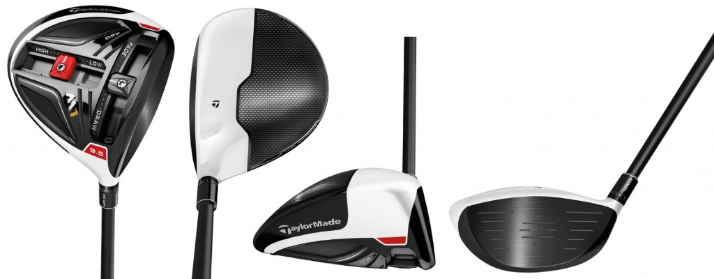 TaylorMade 2016 M1 Driver - 4 Perspectives