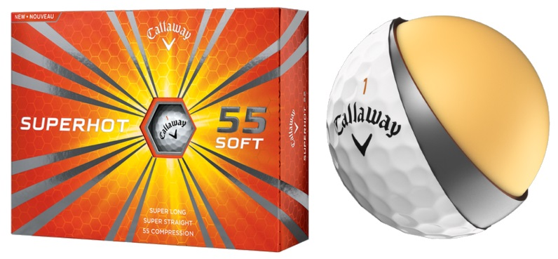 Callaway Superhot 55 Golf Ball Review