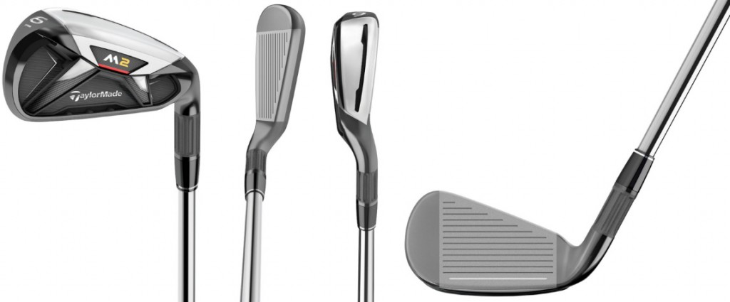 TaylorMade 2016 M2 Irons - 4 Perspectives