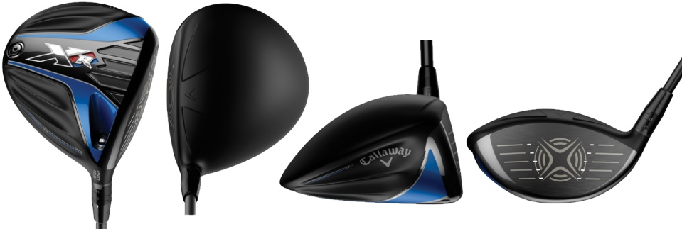 Callaway XR 16 Pro Driver - 4 Perspectives