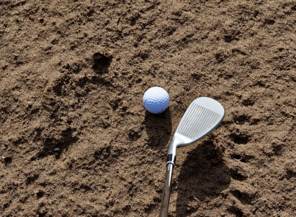 How To Hit A Sand Wedge - Image 1