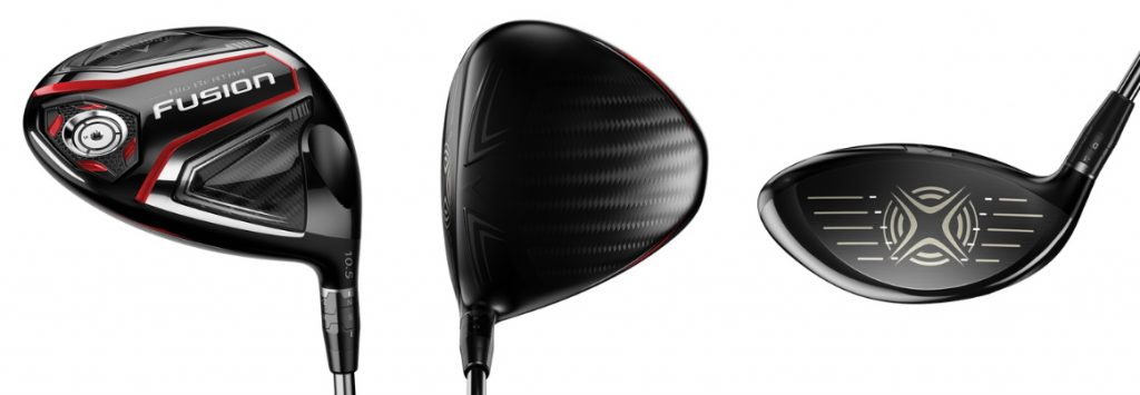Callaway Big Bertha Fusion Heavy Driver - 3 Perspectives