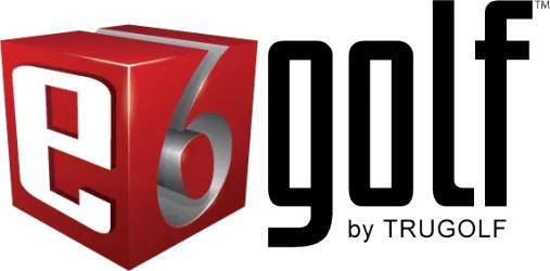 TruGolf E6 Golf Logo
