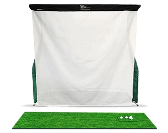 OptiShot 2 Golf-In-A-Box 3 Simulator Setup