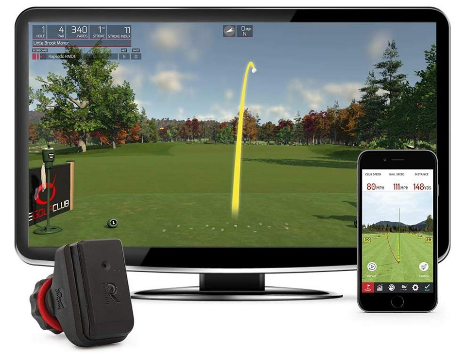 Rapsodo R-Motion Golf Simulator - Product Shot