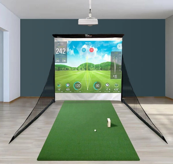 SkyTrak Budget Golf Simulator Layout