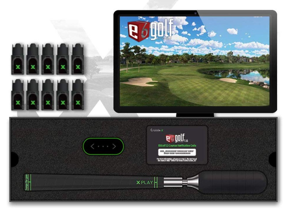 Tittle X Golf Simulator Package
