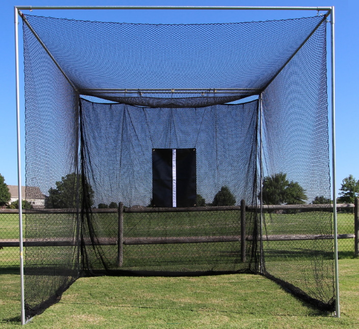 Installed Cimarron Masters Golf Net