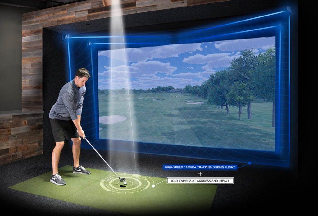 Full Swing Sport Series Simulator Setup