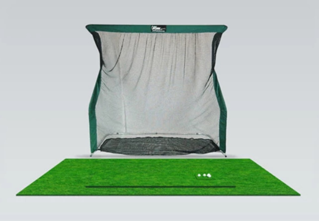 OptiShot Golf-In-A-Box 2 Simulator Setup