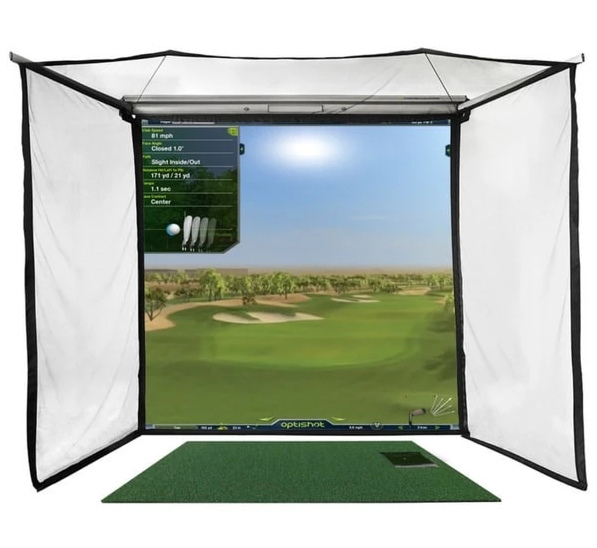 OptiShot 2 Golf-In-A-Box Pro Simulator Setup