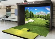 TruGolf Vista 12 Golf Simulator - Base Setup