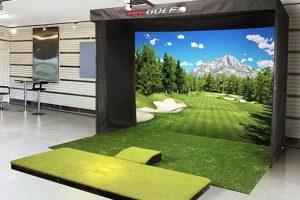 TruGolf Vista 12 Golf Simulator - Base Setup