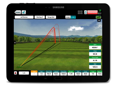 FlightScope VX App Preview