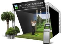 ProTee Ultimate Edition Golf Simulator