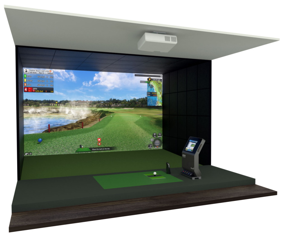GOLFZON VISION Standard Golf Simulator Setup