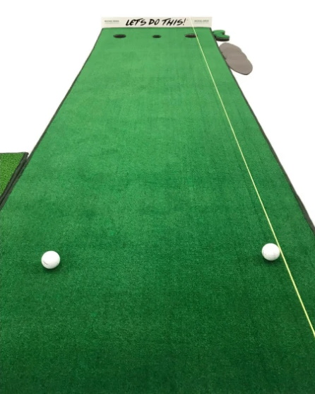 """Big Moss Michael Breed's """"Let's Do This!"""" Putting Green"""