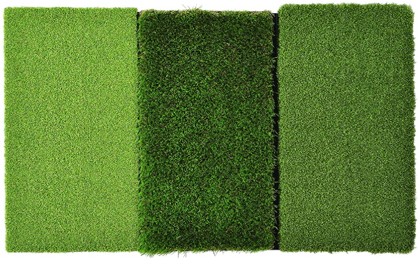 Golf mat turf variations