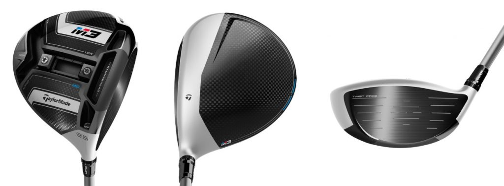 TaylorMade M3 Driver - 3 Perspectives