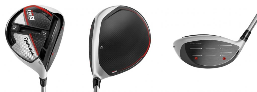 TaylorMade M5 Tour Driver - 3 Perspectives