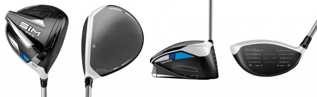 TaylorMade SIM Max D Driver - 4 Perspectives