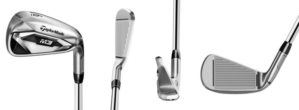 TaylorMade M3 Irons - 4 Perspectives
