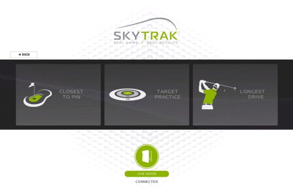 SkyTrak Challenge Minigames