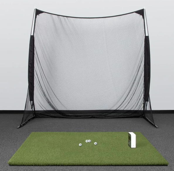 SkyTrak SwingNet Golf Simulator Setup