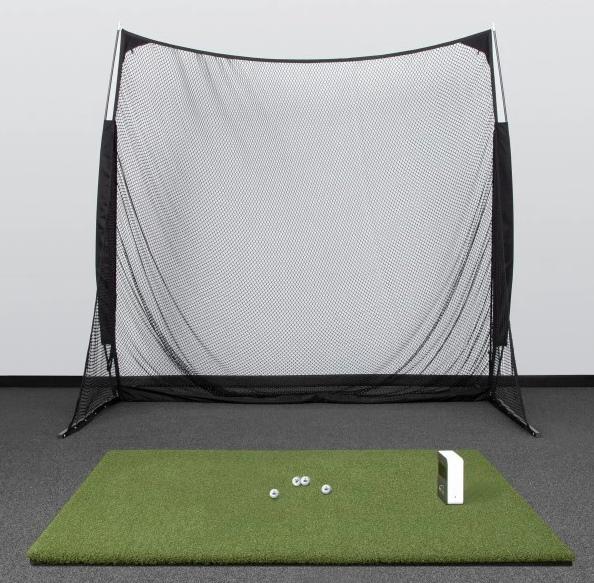SkyTrak SwingNet Golf Simulator Setup