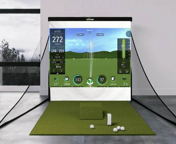 SkyTrak Bronze Golf Simulator Layout