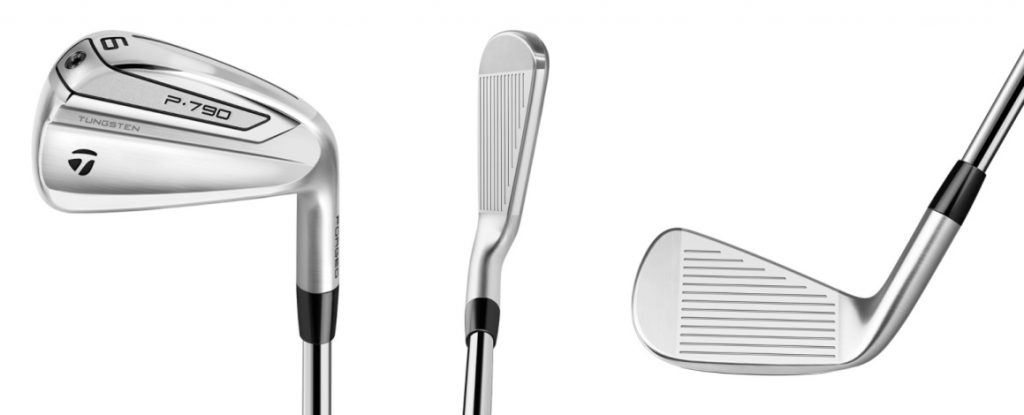 TaylorMade P790 Irons - 3 Perspectives