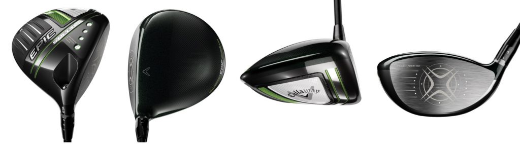 Callaway Epic Speed Driver - 4 Perspectives