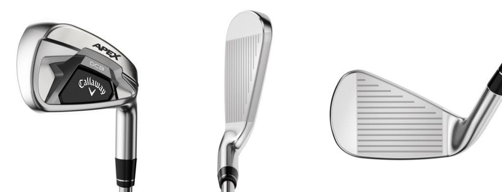 Callaway Apex DCB 21 Irons - 3 Perspectives
