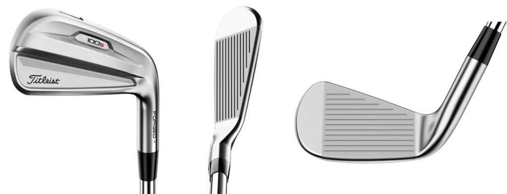 Titleist 2021 T100S Irons - 3 Perspectives